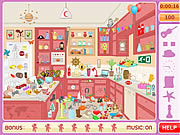 Messy kitchen hidden objects f�z�s j�t�kok